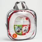 Дорожный горшок HandyPotty в фирменной сумке, цвет коралловый - фото 105451551