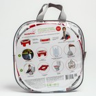 Дорожный горшок HandyPotty в фирменной сумке, цвет коралловый - фото 105451552