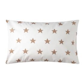 Наволочка Звезды крупные 40х60 см, цв 8130/4, бязь