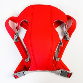 Backpack kangaroo the two straps colour red