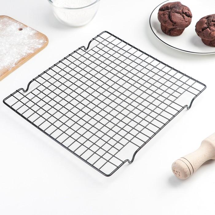 Решётка для глазирования и остывания кондитерских изделий, 28×25 см