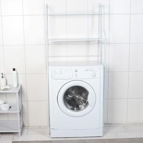 Полка над стиральной машинкой, цвет белый