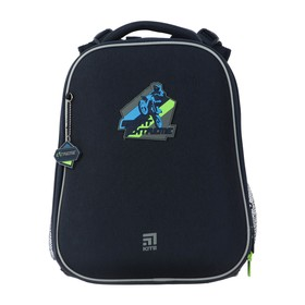 Рюкзак каркасный Kite 531, 38 х 29 х 16, для мальчика, Extreme, синий