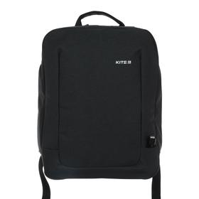 Рюкзак молодёжный эргономичная спинка, Kite 2514, 40 х 30.5 х 7.5, Сity, тёмно-серый