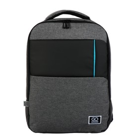 Рюкзак молодёжный эргономичная спинка, GoPack 153, 43 х 32 х 11.5, Сity, серый
