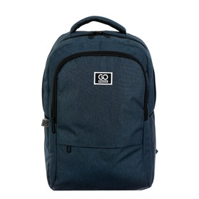 Рюкзак молодёжный эргономичная спинка, GoPack 157, 46 х 32 х 13, Сity, синий