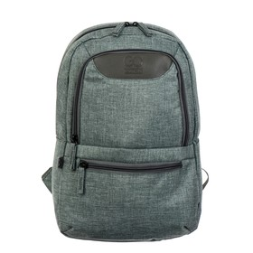 Рюкзак молодёжный GoPack 119S, 37 х 24 х 9, Сity, серый