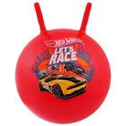 "Ball ""Hot Wheels"" with horns, (45 cm)"