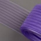 Регилин плоский, гофрированный, 70 мм, 5 ± 0,5 м, цвет сиреневый