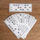 Card games for bingo (set of 25 PCs), 22х8 cm
