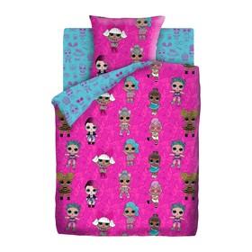 Детское постельное бельё 1.5 L.O.L.Surprise Dolls, 143х215, 150х214, 70х70 см