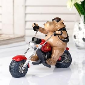 "Souvenir Polyresin ""Behemoth biker"" 21cm"