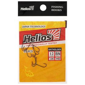 Крючок Helios Baitholder №12, 10 шт.