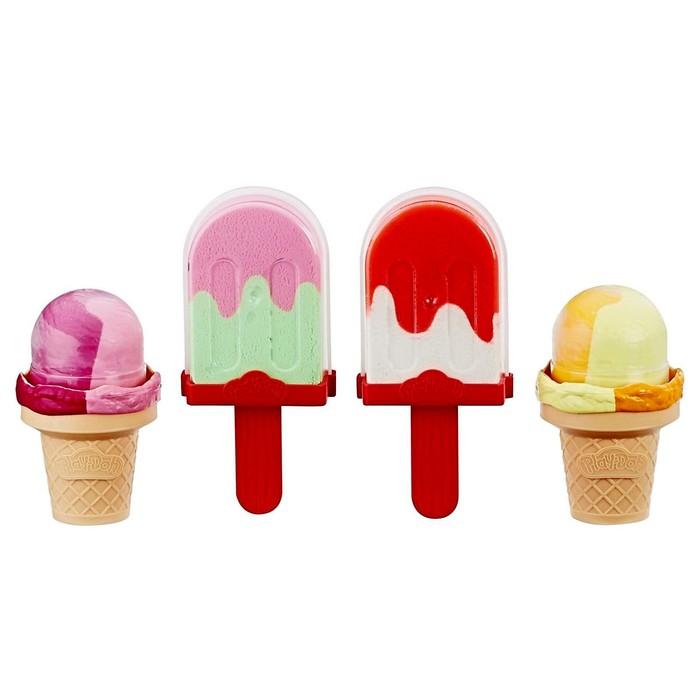 Игровой набор PLAY-DOH «Холодильник с мороженым» - фото 76629617