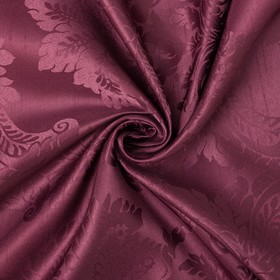 "Ткань портьерная ""Дамаск"" CRABAPPLE, ш.280, дл 10м, пл. 160 г/м2,100 % п/э"