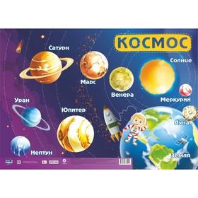"""Плакат """"Космос"""" планеты солнечной системы, А2"""
