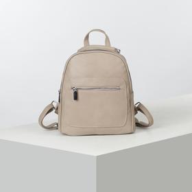 Рюкзак молод L-892093, 24*9*29, 2 отд на молниях, 2 н/кармана, хаки