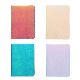 Записная книжка подарочная формат А6, 80 листов, линия, блок 70г, обложка МИКС Сияние