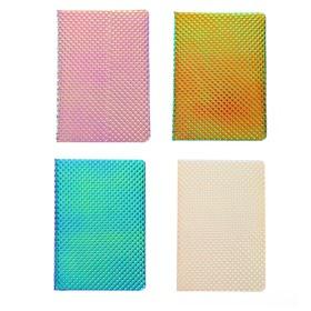 Записная книжка подарочная формат А5, 80 листов, линия, блок 70г, обложка МИКС NEW