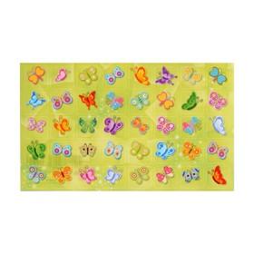 "Наклейки-оценки ""Бабочки"" А6"