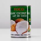 "Organic coconut milk ""FOCO"" (10-12%) 400 ml, W/W"