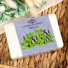 """Соляной брикет с алтайскими травами """"Пихта"""", 1,35 кг """"Добропаровъ"""" - фото 1633829"""