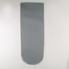 Чехол для гладильной доски Airmesh, 125×47 см, термостойкий, цвет серый