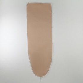 Чехол для гладильной доски Airmesh, 136×52 см, термостойкий, цвет бежевый