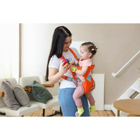 Рюкзак-кенгуру для малыша «Зайка», от 3 до 10 кг