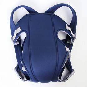 Backpack kangaroo two straps, color blue