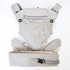 Backpack kangaroo the two straps colour grey