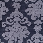 Чехол для мягкой мебели 3-х предметный с оборкой трикотаж жаккард, цв синий 100% п/э - фото 653475