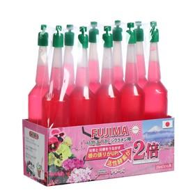 Удобрение Японское FUJIMA для цветущих (активация цветения), розовый, 35 мл, 10 шт  (набор)