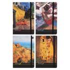 Блокнот А5, 100 листов Megapolis art. «Искусство», твёрдая обложка, микс из 4-х видов