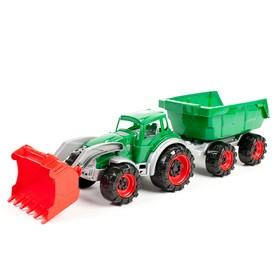 Трактор «Техас погрузчик с прицепом», МИКС