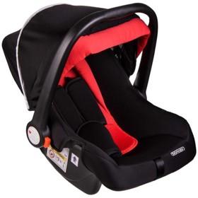 Автокресло детское 0+ гр Skyway Егоза (0-13 кг/ 0-1 лет) Черно-красное