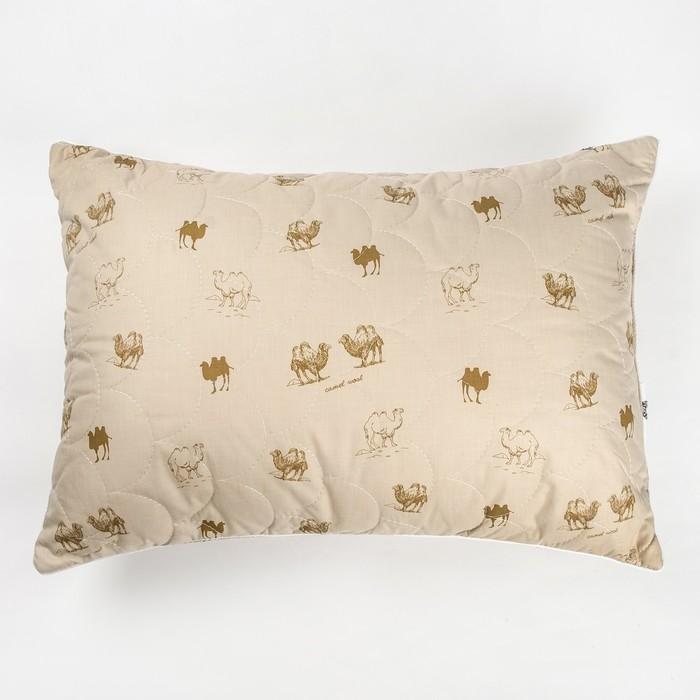 "Подушка Адамас ""Верблюжья шерсть"", размер 70х70 см, чехол тик - фото 725338657"