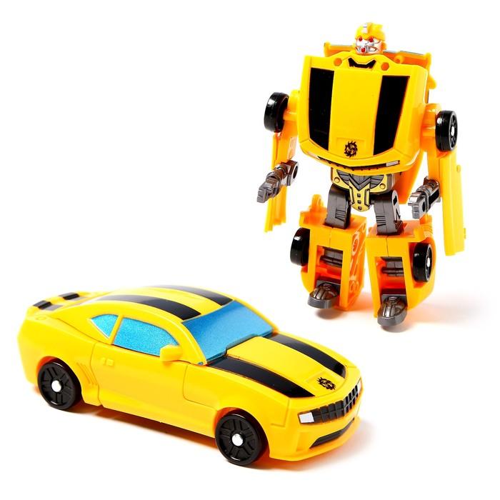 Робот «Спорткар», трансформируется, МИКС - фото 105506522