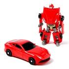 Робот «Спорткар», трансформируется, МИКС - фото 105506525