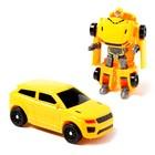 Робот «Спорткар», трансформируется, МИКС - фото 105506526