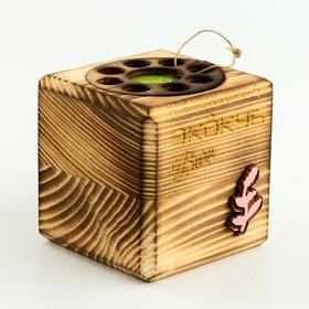 """ЭкоКуб burn для выращивания мультибокс """"Мимоза"""""""
