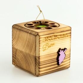 """ЭкоКуб burn для выращивания мультибокс """"Сирень"""""""