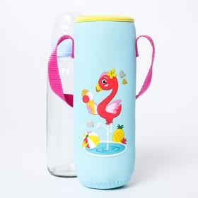Термосумка для бутылочки «Фламинго»