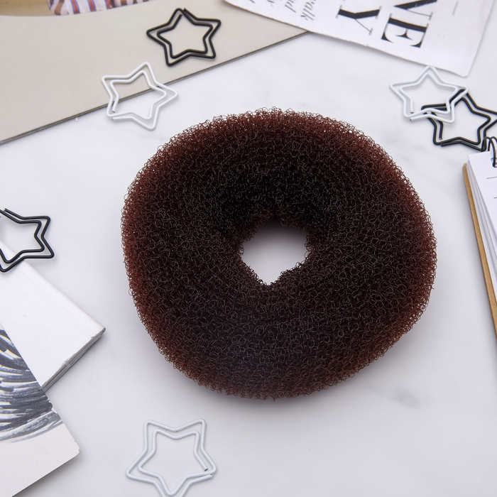 Валик для волос (коричневый, большой)