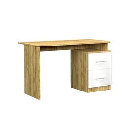 Стол письменный Лего, 1204х602х750, Крафт золотой/Белый