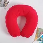 Headrest Red shape oval