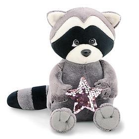 Мягкая игрушка «Енотик Дэйзи. Розовая звезда», 20 см