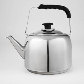 Чайник 5 л, нержавеющая сталь, индукционное дно