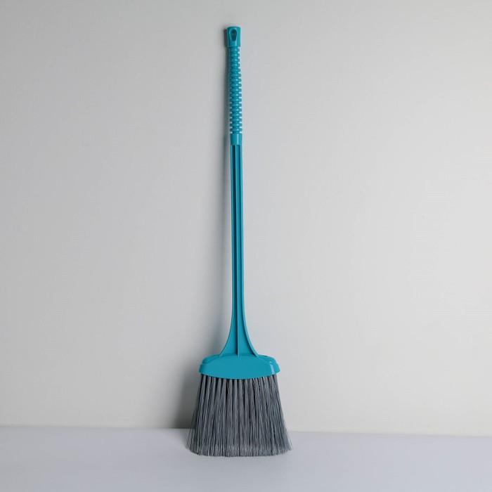 Щётка для уборки мусора «Веник», цвет синий