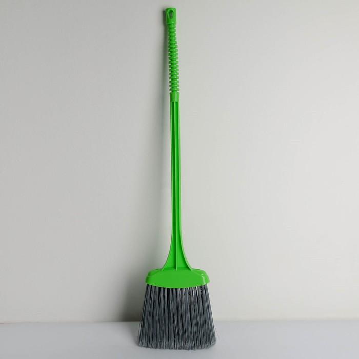 Щётка для уборки мусора «Веник», цвет зелёный